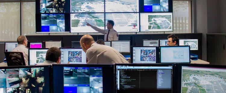 CRA Central Receptora de Alarmas de Clece Seguridad